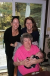 Four generations - Meme, Mem, Mommy and Madeline