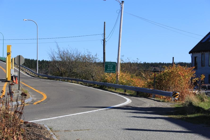 FDR bridge to Canada