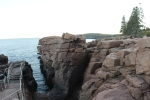 Thunder Hole. Kind of boring on this day.