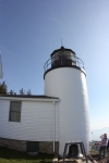 Bass Harbor Head Lighthouse. Underwhelming.