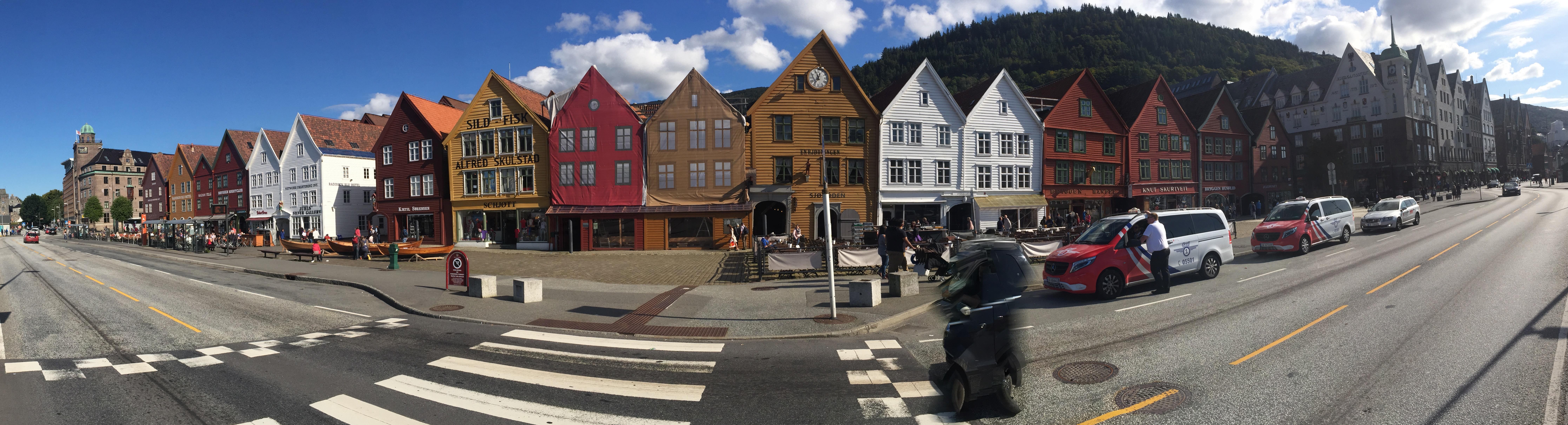 Bryggen panorama